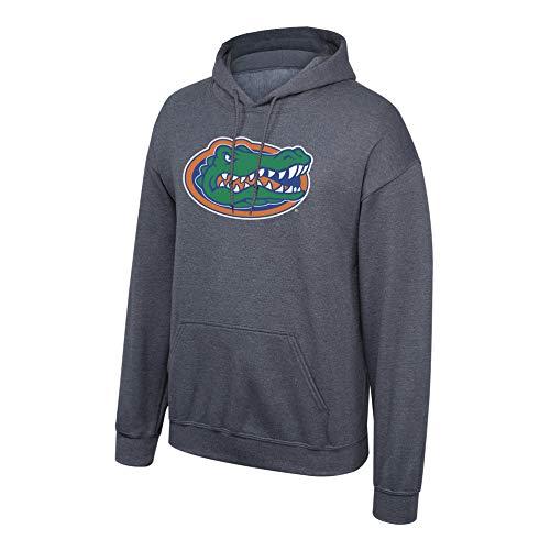 eLITe Fan Shop NCAA Men's Florida Gators Hoodie Sweatshirt Dark Heather Icon Florida Gators Dark Heather X Large -