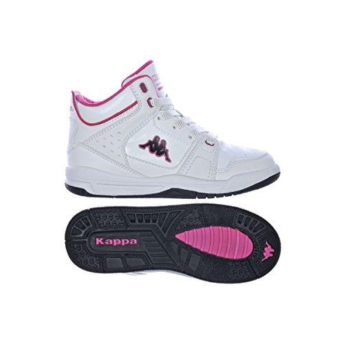 Kappa Vulest Kid Baskets Montantes Neuf Chaussur. Blanc / Rose
