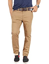 100% Cotton Lycra Slim Fit stretchable Mens KHAFRA by Uber Urban