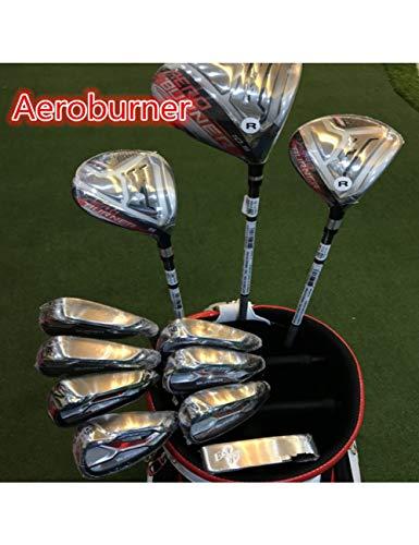 HDPP Golfschläger Golf KomplettsetGolfschlägerDriver + Fairway Woods + Eisen + Putter Graphit/Stahlschaft Mit Kopfbedeckung Ohne Tasche (Junior Golfschläger Graphit)