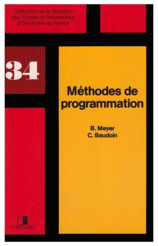 Mthodes de programmation