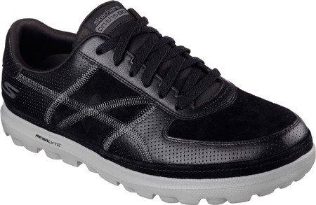 Skechers Mens On The Go Legend Sneaker Black/Gray