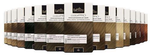Euphidra Tinta Color Pro 435 Colorazione Permanente senza ammoniaca CASTANO FONDENTE