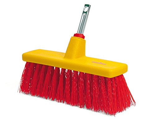 WOLF-Garten B30M Multi-Change Yard Broom Cleaning Tool Head, Red, 40x6.1x4.8 cm