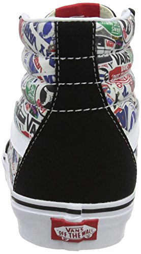 Vans Sk8-Hi, Sneakers Hautes Mixte Adulte Multicolore (mlx)