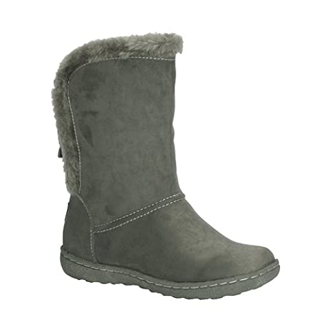 Pixie Becky, Ladies Boots (5, Grey)