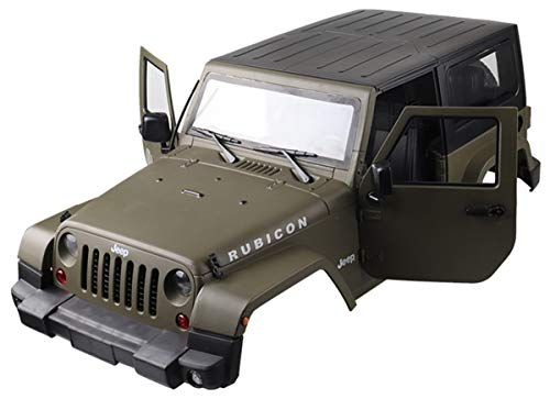 ARUNDEL SERVICES EU 1:10 RC Crawler Karosserie 1/10 Axial SCX10 II SCX10 / D90 Scale Truck RC-Modelle Harte Karosserie für Wrangler Jeep RC-Modellzubehör