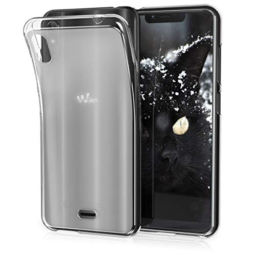 kwmobile Wiko View 2 Go Hülle - Handyhülle für Wiko View 2 Go - Handy Case in Transparent