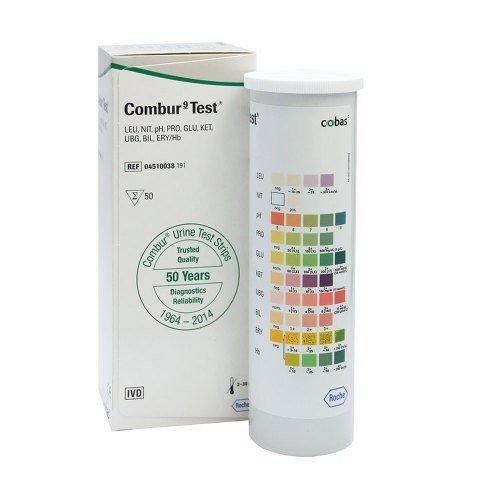 Combur 9 Test, Teststreifen, 50 Stück