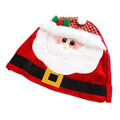 Kostüm Weihnachtsmann Kinder Muster - SuperSU Weihnachten ➱➲ 1 Stücke Kind Erwachsene Nikolausmütze Weihnachtsmütze (Schneemann Weihnachtsmann Elch),Weihnachtsdeko Xmas Party Deko für Kinder Weihnachtsmann Kostüm
