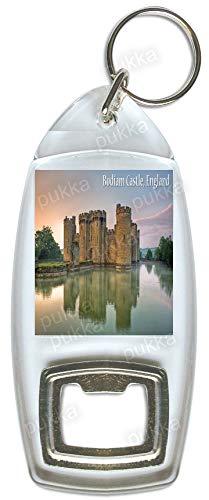 Bodiam Castle England UK - Souvenir Flaschenöffner Schlüsselanhänger -
