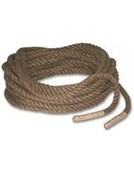 Tir à la corde - cordage en toile de jute ou en sisal - 22 m (25 mm) - 30 m (32 mm) - 36 m (32 mm)
