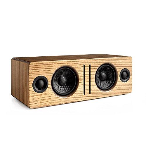 Audioengine B2 Zebrano aptX Stereo Aktiv Lautsprecher (Bluetooth, 2 x 30 Watt)