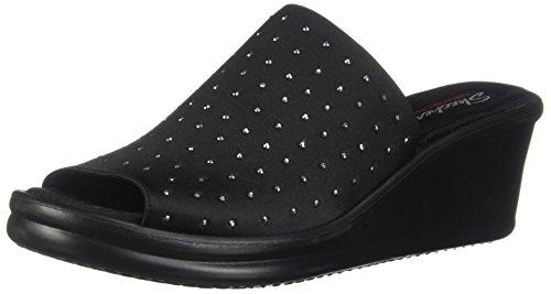 Skechers Women's Rumblers-Silky Smooth Slide Sandal