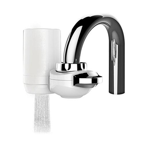 PHOEWON Wasserhahn Wasserfilter 9 Stufen Wasseraufbereiter Trinkwasser Wasserreiniger für Küche, Wasserfilteranlage mit Keramischen Filterpatrone (Wasser Filter Wasserhahn Purifier)