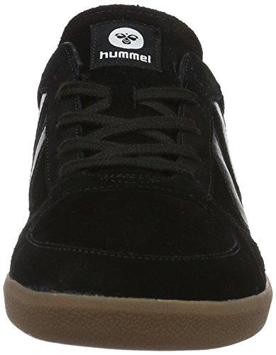 Hummel Victory, Scarpe da Ginnastica Basse Unisex-Adulto Nero (Black)