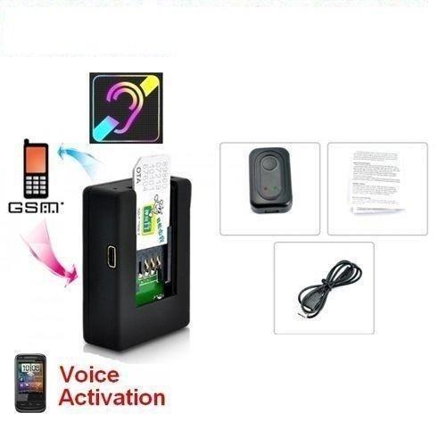 N9 Mini-Abhörgerät, Audio, GSM, Vox, Aktivierung durch Stimme