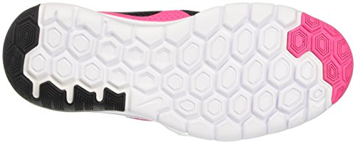 Nike Flex Experience 5 Gs, chaussures de course fille Rose (Pink Blast/black/white)