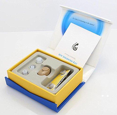 Mini invisibile apparecchi acustici udito amplificatore cura dell'orecchio il miglior regalo per prendersi cura degli anziani