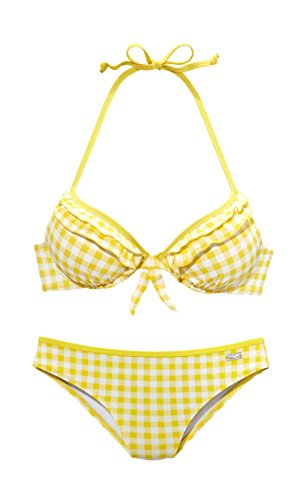 BUFFALO Push-Up-Bikini AA-Cup Mehrfarbig Größe 40