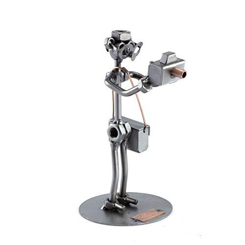 Steelman24 I Fotógrafo 2 I Made in Germany I Idea para Regalo I Figura de metalo