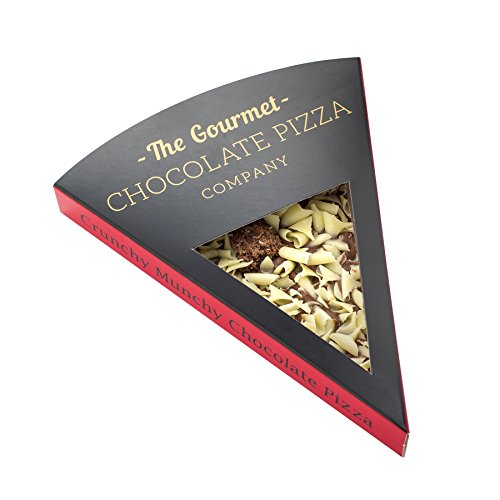 Gourmet Chocolate Pizza Slices Indiviually Wrapped (Crunchy Munchy)