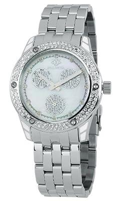Wellington WN507-181A Mataura - Reloj de pulsera analógico para mujer, fabricado en acero inoxidable de Wellington