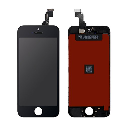 AKEKEY Ecran LCD Display Vitre Tactile de Remplacement Complet Avec Qutils de Réparation pour iPhone 5C