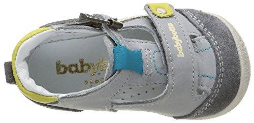 Babybotte Parapente, Chaussures Bébé marche bébé garçon Gris (074 Gris)