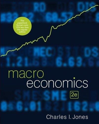 Macroeconomics by Charles I. Jones (2011-07-28)