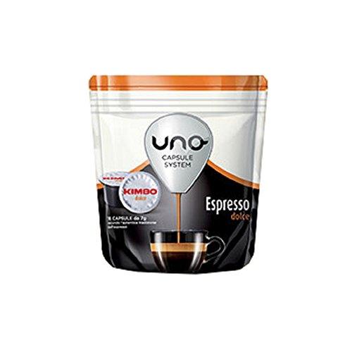 48 CAPSULE CAFFE KIMBO MISCELA ESPRESSO DOLCE COMPATIBILITA' UNO SYSTEM ILLY 47