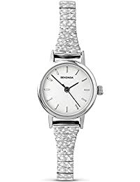 Sekonda Women's Quartz Watch with Silver Dial Analogue Display and Silver Stainless Steel Bracelet 4676.27