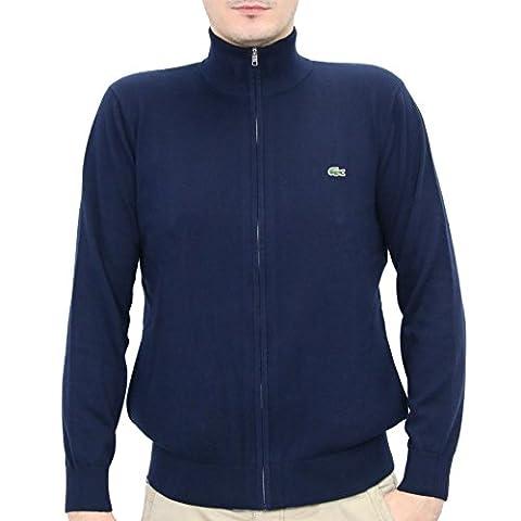AH8066 166|Lacoste Sweatshirts FZ Marine|5