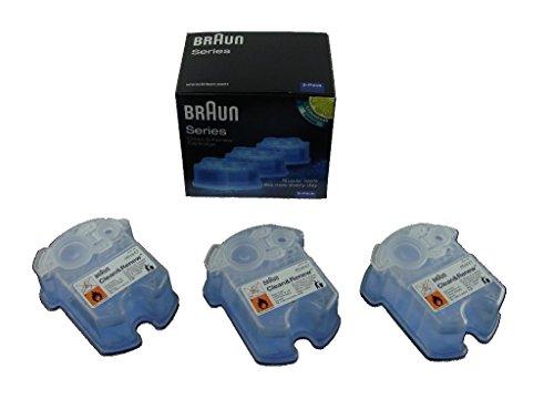 Braun Clean & Renew Cartridge 3-Pack