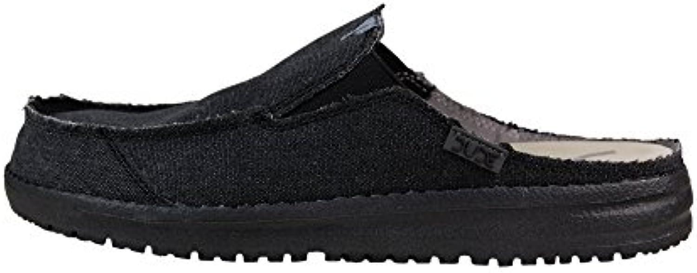 Dude Shoes Martin Negro Hombres Deslizarse EN -