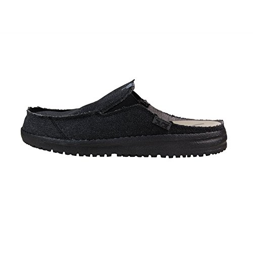 Dude Shoes Slip Noir Martin Masculin