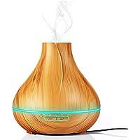 Aroma Diffuser 300ml Luftbefeuchter Ultraschall Vernebler mit 7 Farbigen LED für z.B. Schlafzimmer, Büro, Wohnzimmer... preisvergleich bei billige-tabletten.eu