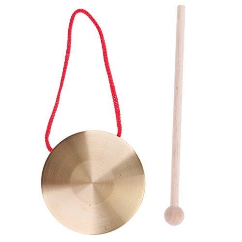 sharprepublic Mini Kleine Kinder Kinder Metall Hand Becken Gong Band Percussion Musical -