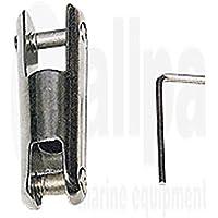 Niro ancla Cadenas Conector a78mm b15mm c9mm d37mm e35mm festes Modelo hasta 850kg de Allpa