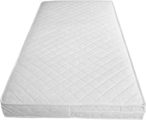 Babies Firsts Luxury Spring Cot Bed Mattress with Tape Edges 140x70x10cm Thick (Fits Mothercare and Mamas & Papas sizes)
