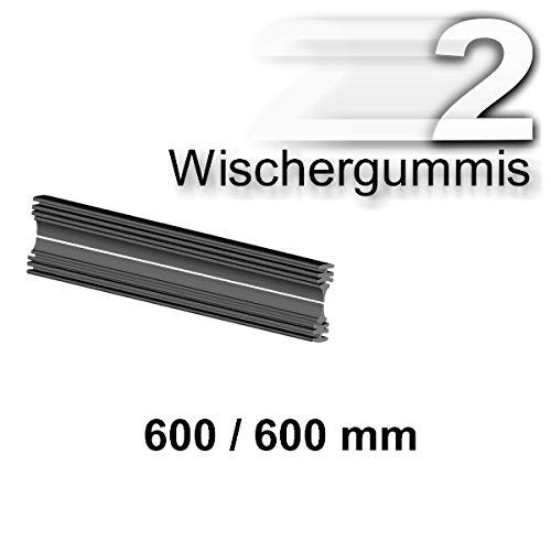 Preisvergleich Produktbild 2 x Wischergummis für BOSCH 3397009825 A825S AEROTWIN Scheibenwischer 600/600