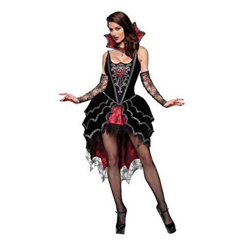 YaXuan Cosplay/Halloween Kostüme/Vampir Teufel/Spinne Spiel Uniform/Halloween / Karneval/Tag der Toten Festival/Urlaub Halloween Kostüme (Farbe : 1, Größe : M)