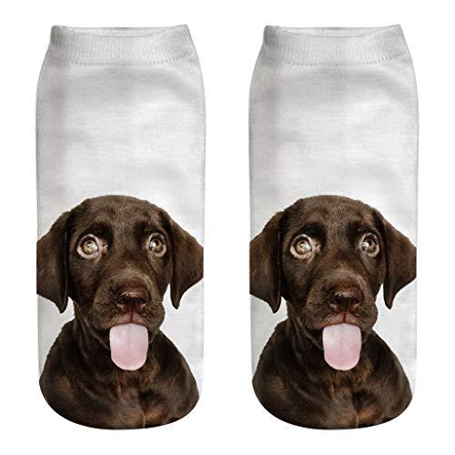 Super 60 Quarter Socken (fiosoji Merinowolle Socken, Damen und Herren, Atmungsaktiv, Feuchtigkeitsregulierung, Ideal im Frühjahr und Sommer, Anzugsocken, Schwarz, Grau, Blau Ankle Dog)