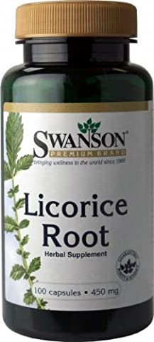Swanson Licorice Root (450mg, 100