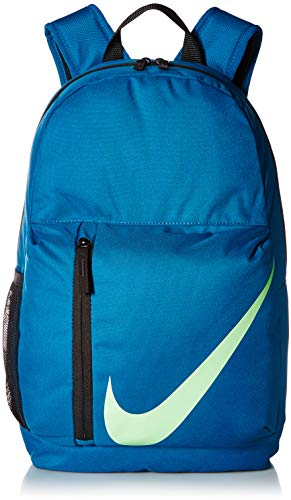 da872c86d86d5 NIKE Kids' Elemental Backpack, Green Abyss/Black/Barely Volt, One Size