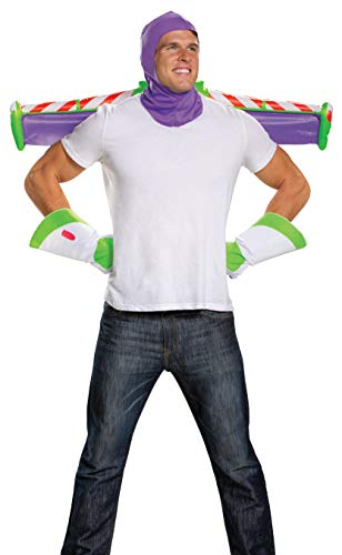 Disguise 198458 Toy Story- Buzz Lightyear Adult Costume Kit (accesorio de disfraz)