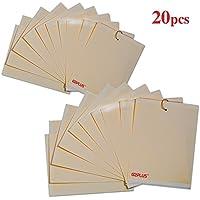 10 unidades de trampas adhesivas amarillas para moscas blancas, mosca sciara, pulgón con alas