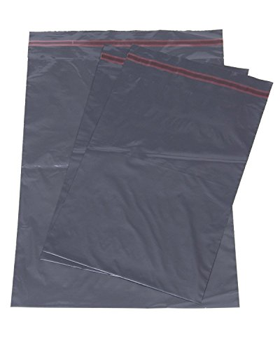500x Grey Mailing Courier Postal Bags - 10 x 14 by Grey Mailing Bags