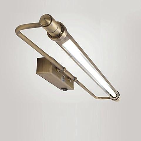 FAFZ Spiegel-vordere Lichter, LED-Spiegel-Scheinwerfer, europäischer Art amerikanische Art- und Weisebadezimmer-Lichter,