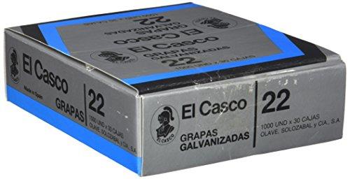 El Casco 1G00221 - Pack de 30 cajas de grapas